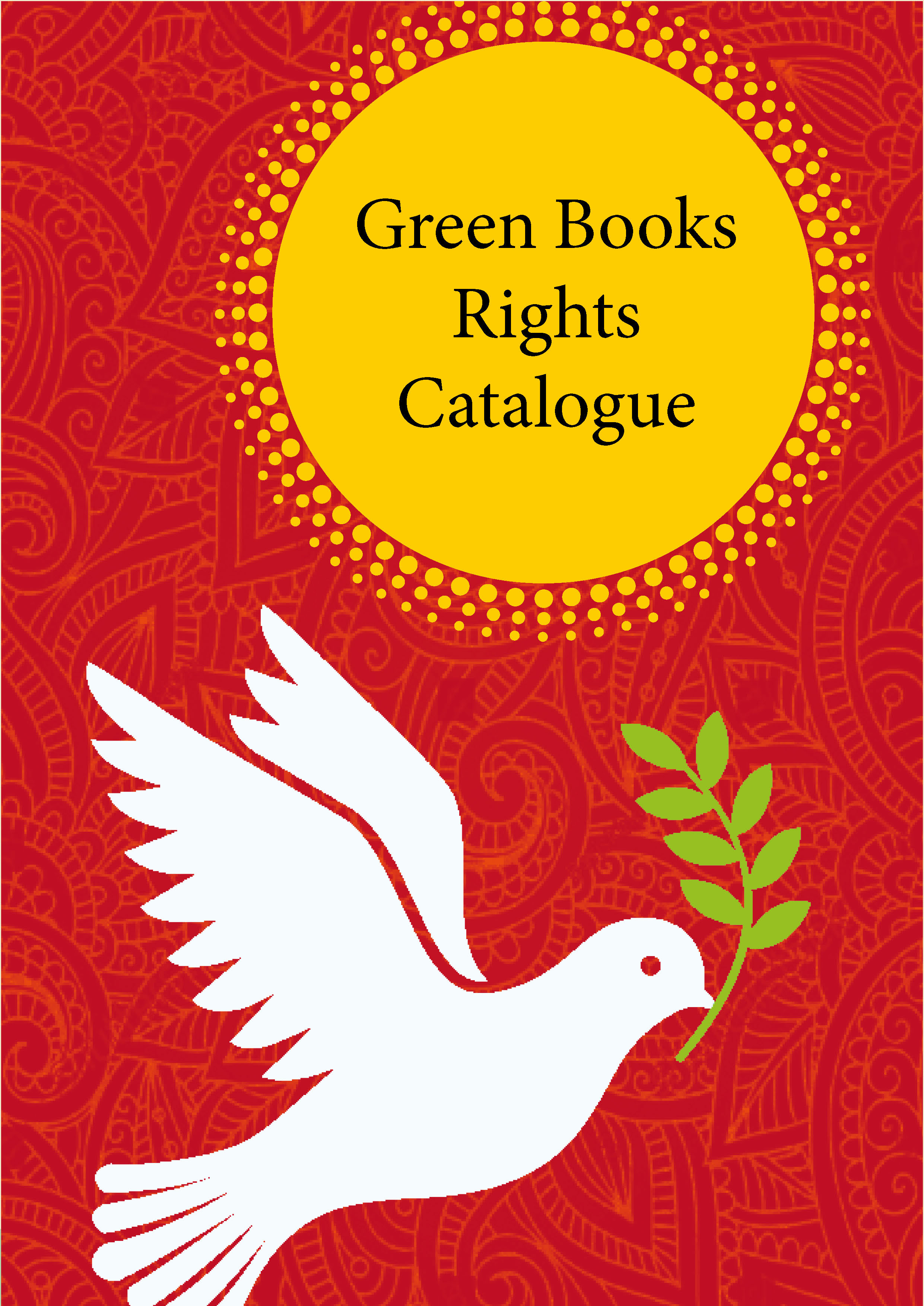 Green Books - GreenBooks rights catalogue 2020 cover